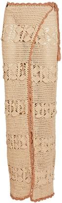 Maiyo Adele Crochet Cotton Wrap Skirt