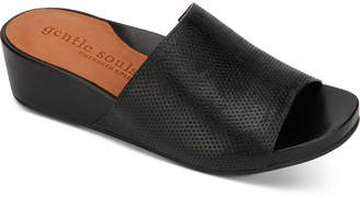 Gentle Souls by Kenneth Cole Women Gisele Slide Wedges Women Shoes