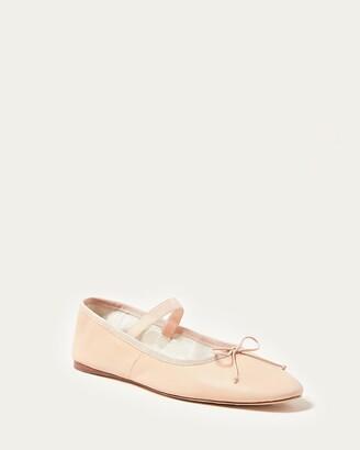 Loeffler Randall Leonie Pink Ballet Flat