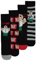 George Family Guy 4 Pack Socks