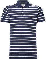 Farah Men's Randall Herringbone Polo Shirt
