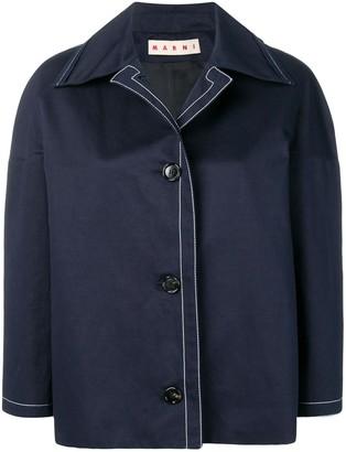 Marni Boxy Cropped Jacket