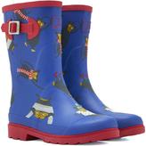 Joules Blue Buckle Rain Boot - Boys