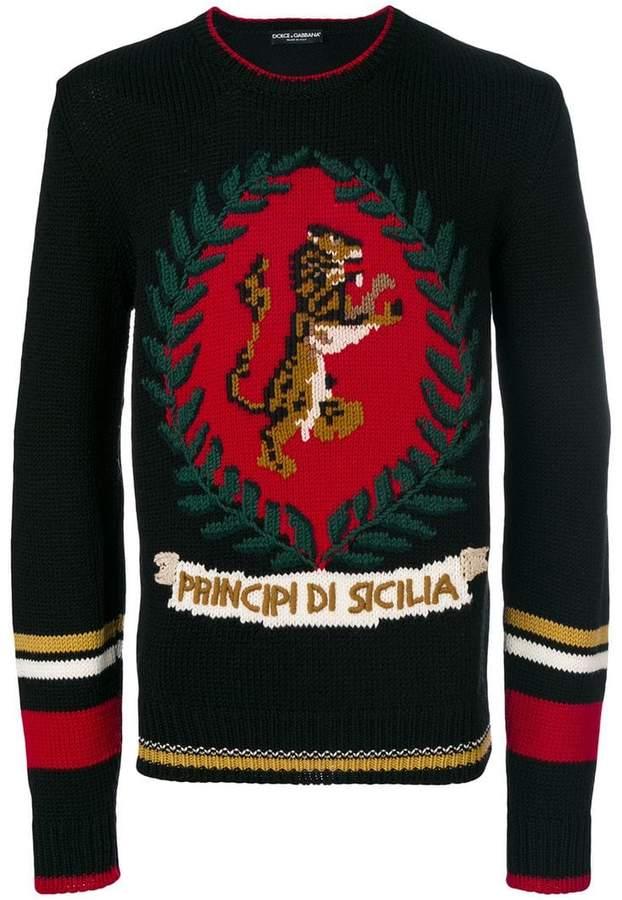 Dolce & Gabbana tiger sweater