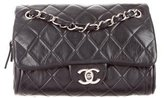 Chanel Quilted Lambskin Zip Flap Bag