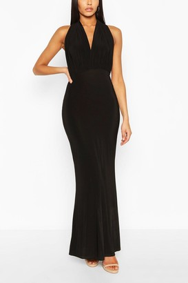 boohoo Bridesmaid Multiway Fishtail Maxi Dress