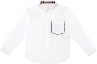 BURBERRY KIDS Cotton shirt