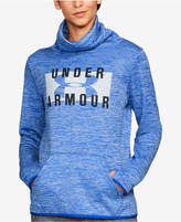 Under Armour Storm Armour® Fleece Funnel-Neck Logo Top
