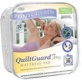 Protect A Bed Protect-A-Bed QuiltGuard Terry Mattress Pad