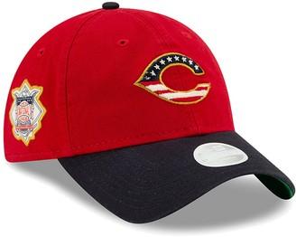 New Era Women's Red Cincinnati Reds 2019 Stars & Stripes 4th of July 9TWENTY Adjustable Hat