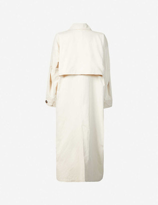 Iben Brayden cotton-twill trench jacket