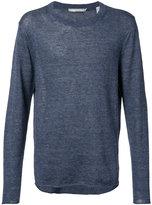 Vince knitted top - men - Linen/Flax - S