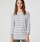 LOFT Textured Stripe Top