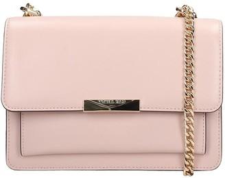 Michael Kors Shoulder Bag In Rose-pink Leather