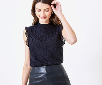 Oasis Lace Mix Shell Top