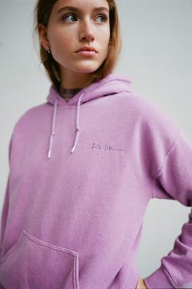 Iets Frans... iets frans Embroidered Fleece Hoodie Sweatshirt
