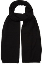 Comme Des Garcons Shirt Wide Wool Scarf