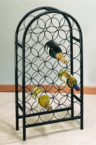 ODI HOUSEWARES Matte Black 27 Bottle Classic Arch Wine Rack