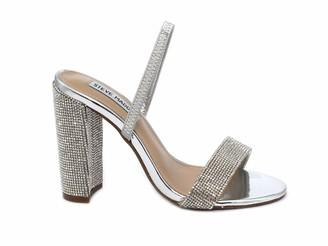 Steve Madden Women's Cameo-R Rhinestone Heeled Sandal