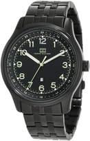 Tommy Hilfiger Men's Classic IP Case and Bracelet Watch 1710307