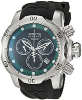 Invicta Men's 19006 Venom Analog Display Swiss Quartz Black Watch
