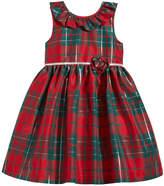 Laura Ashley Plaid Party Dress, Little Girls (4-6X)