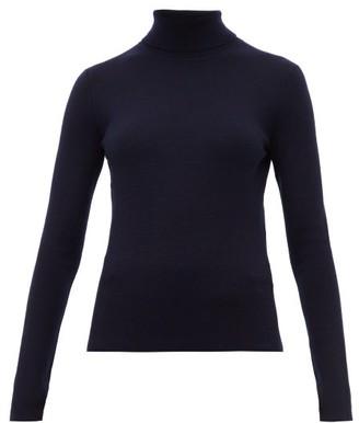 Gabriela Hearst May Wanaka Roll-neck Sweater - Womens - Navy