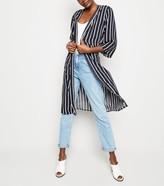 New Look JDY Stripe Longline Kimono
