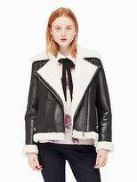 Kate Spade Shearling coat