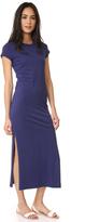 Sundry Short Sleeve Maxi Dress