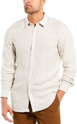 Theory Irving Summer Linen Woven Shirt