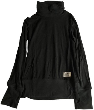Christian Dior Black Cotton Knitwear