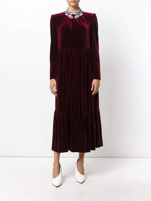 VIVETTA pleated evening dress