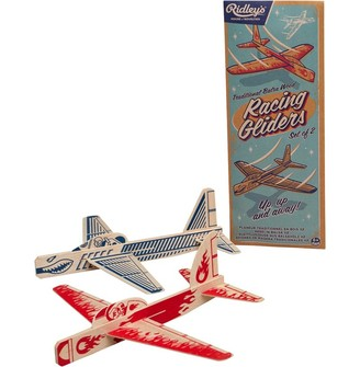 Ridleys Ridley's Classic Kids Airplane Gliders Set Of 2 Multi