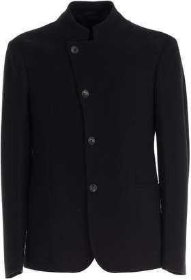 Giorgio Armani Jacket Korean Neck Asymmetric