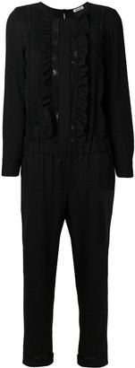 P.A.R.O.S.H. Lace And Frill Jumpsuit