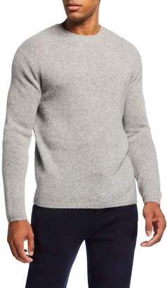 Vince Men's Crewneck Long-Sleeve Lofty Cashmere Sweater
