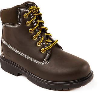 Deer Stags Little Kid/Big Kid Boys Mak2 Waterproof Insulated Work Boots Block Heel