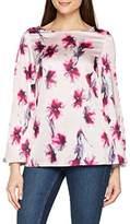 Jacques Vert Women's Samantha Printed Long Sleeve Top,8 (Manufacturer Size:8)