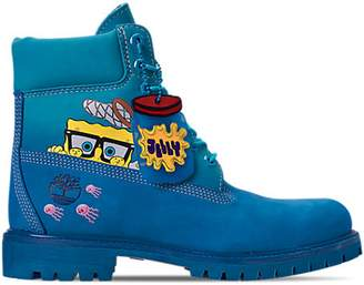 "Timberland 6"" Spongebob Blue"