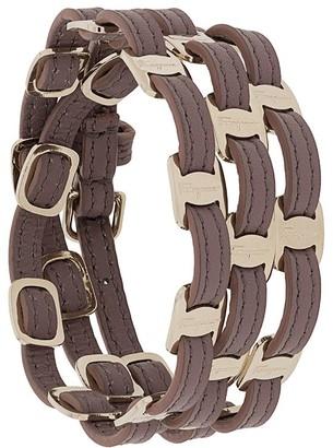 Salvatore Ferragamo Vara triple-strap buckle bracelet