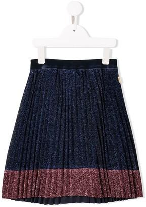 Little Marc Jacobs Glitter Pleated Skirt