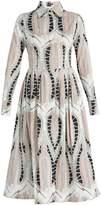 Sophie Theallet Alabaster cotton-poplin dress