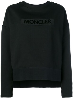 Moncler embroidered logo sweatshirt