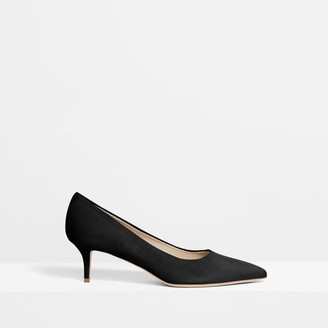 Theory City 55 Pump in Suede