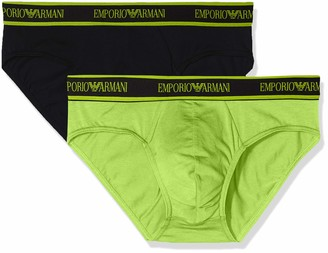 Emporio Armani Men's Core Logoband 2-Pack Boxer Brief