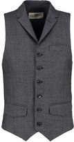 Bertoni Bjerg Waistcoat Salt And Pepper