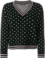 Twin-Set polka-dot sweater