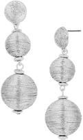 BaubleBar Metallic Crispin Drop Earrings