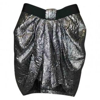 Isabel Marant Silver Wool Skirt for Women
